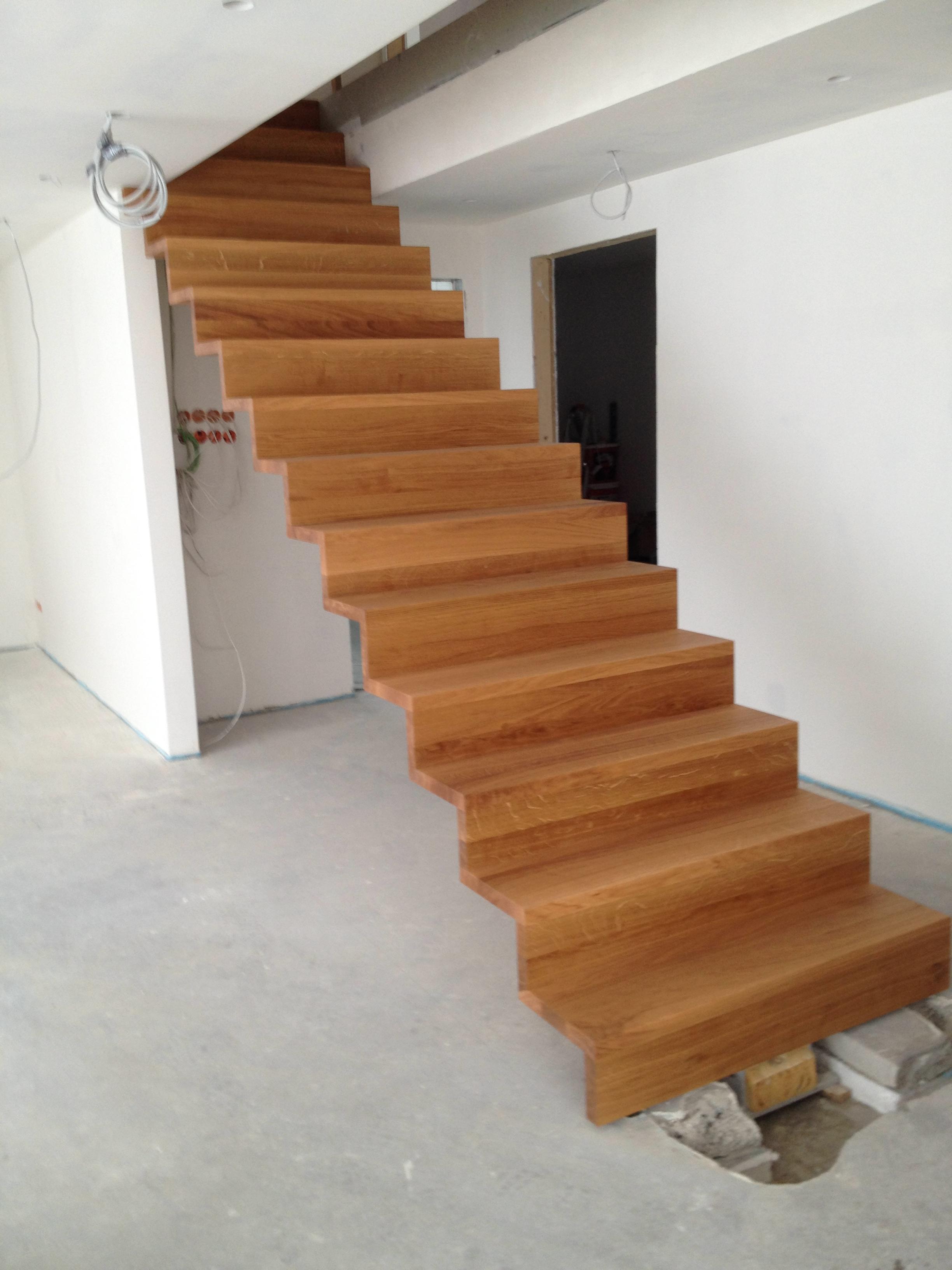die neue treppe ist da hoimelig. Black Bedroom Furniture Sets. Home Design Ideas